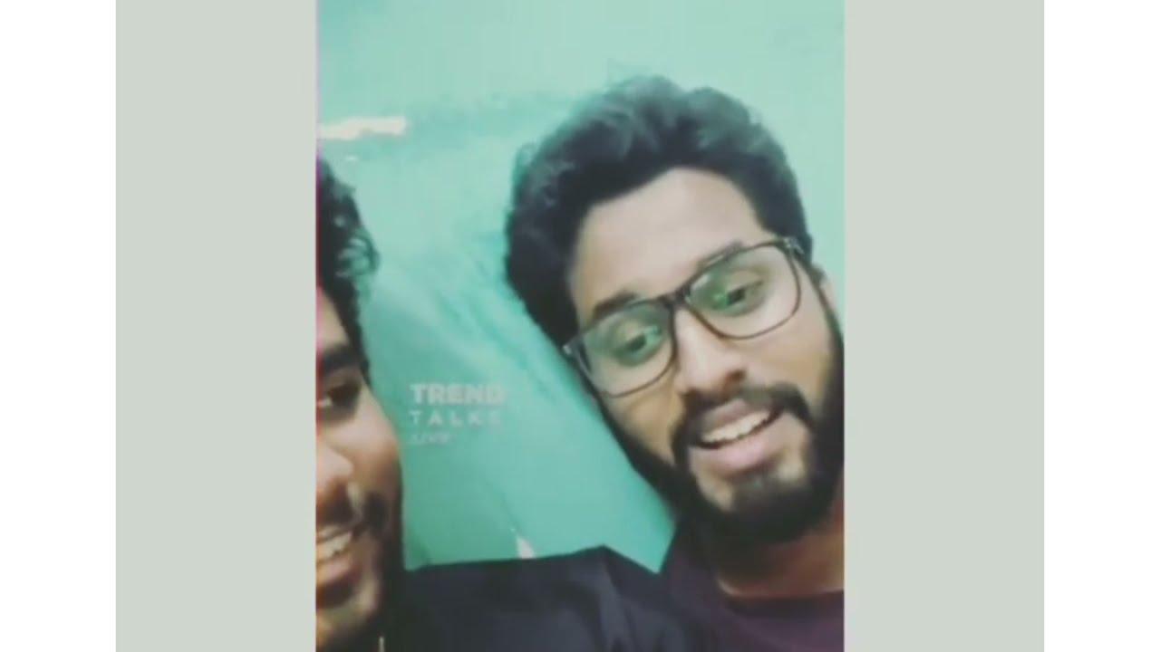 Sam Vishal & Eniyan Singing in LIVE | Ennoda Laila | Thalapathy