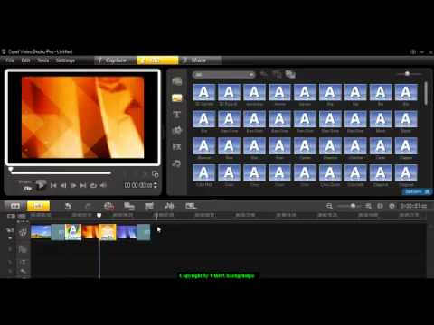 Corel video studio pro x3