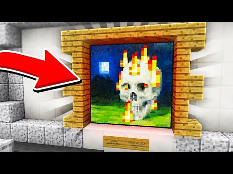 Never walk through this FAKE PAINTING in Minecraft Murder Mystery...