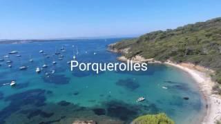 DJI Phantom 4 : île de Porquerolles