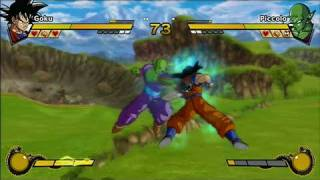 Dragon Ball Z: Burst Limit Xbox 360 Gameplay - Air Battle