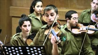 Gabriel CHOURAKI - Orchestre Symphonique  de Tsahal - JS Bach Concerto pour 2 violons en ré mineur