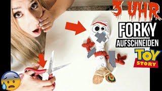 schneide FORKY Toy story 4 niemals um 3 uhr Nachts auf (was ist im SPIELZEUG)
