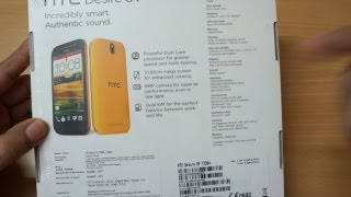 HTC Desire SV Unboxing & Hands on Overview