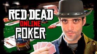 Jogar POKER no Red Dead ONLINE é DIVERTIDO DEMAIS
