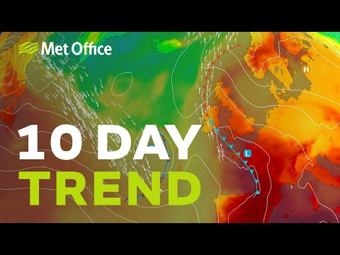 10 Day Trend – Thundery Breakdown, Then What? 24/06/20