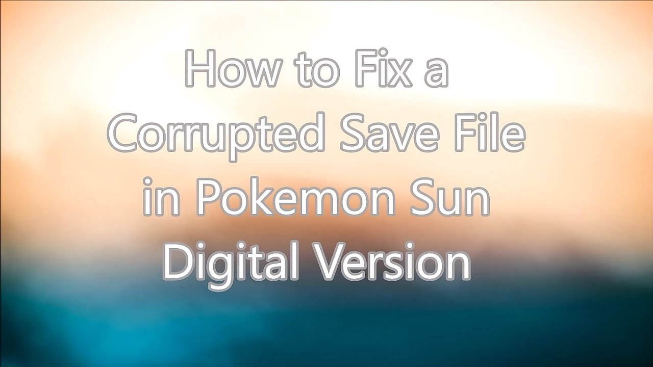 dolphin how to make save files not get corrupted
