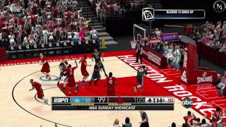 NBA 2K14 PC MOD 2016/2017 Updated Rosters │Warriors vs Rockets  HD Gameplay