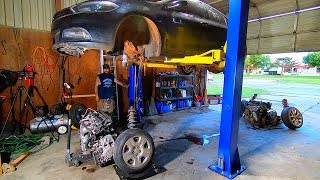 Copart Flood 2013 Dodge Dart Powertrain Swap DONE!...