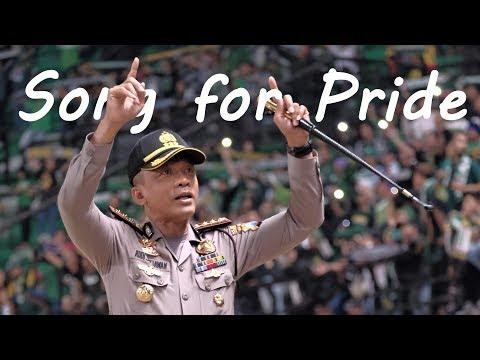 Song For Pride - Momen Kapolrestabes Surabaya ikut bernyanyi usai Laga Persebaya vs PSMS