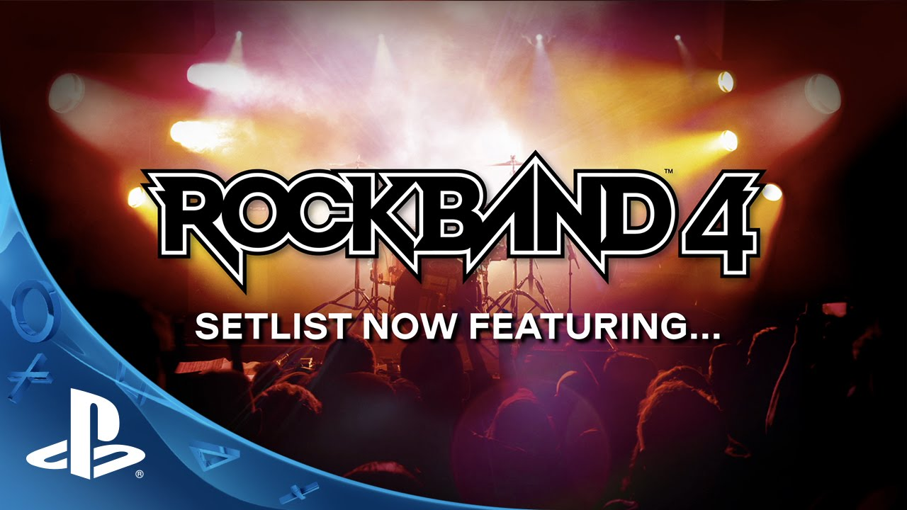 Rock Band 4: 10 Extra Songs for PS Plus Pre-orders