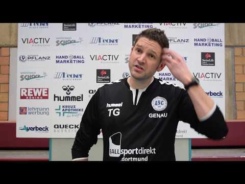 ASC 09 Dortmund - HC TuRa Bergkamen 27:16 - Interview mit Trainer Tobias Genau