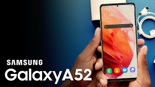 SAMSUNG GALAXY A52 - Officially Revealed!