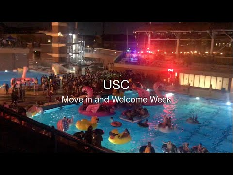 USC Move-in and Welcome Week