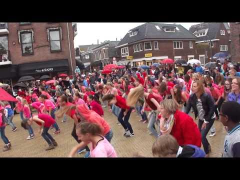 Flashmob Sassenheim Dansstudio Sja