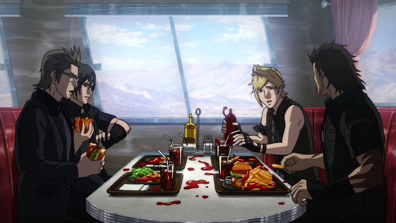 Interactive Anime Wallpaper Brotherhood Final Fantasy Xv Announcement Trailer Youtube