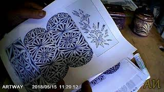 Эскизы для геометрической резьбы