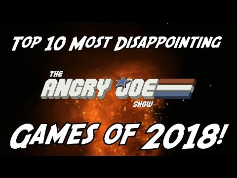 Top 10 Most Disappointing Games of 2018!
