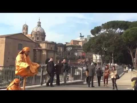 Rome, Capitoline Hill, city centre, meditation