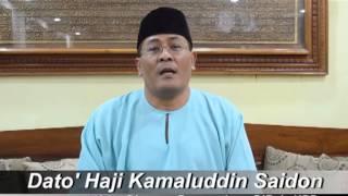 Sultan Palembang - Ucapan Dato' Haji Kamaluddin Saidon (Hari Raya Aidilfitri)