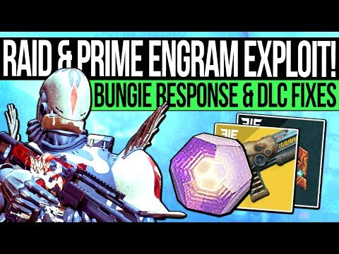 Destiny 2 | PRIME ENGRAM WARNING! Bungie Responds, Raid Fixed, Fast Prime Engrams & 600 Power Tips!