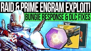 One of xHOUNDISHx's most viewed videos: Destiny 2 | PRIME ENGRAM WARNING! Bungie Responds, Raid Fixed, Fast Prime Engrams & 600 Power Tips!