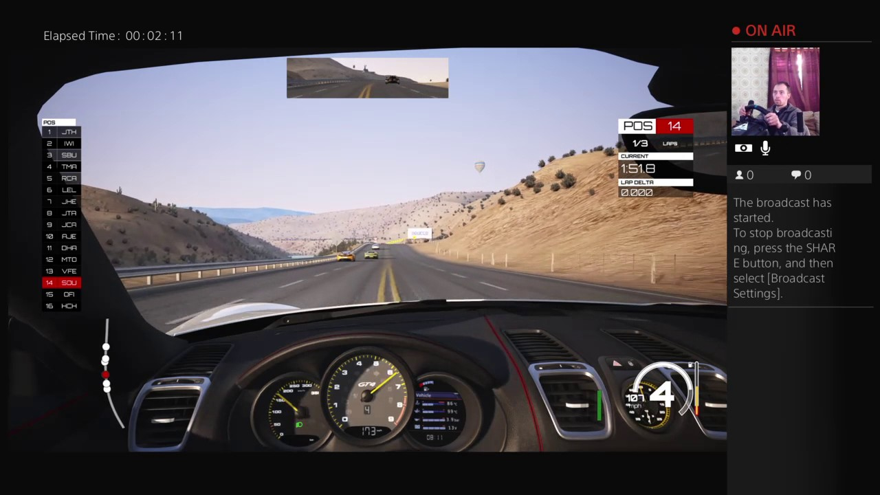 Dirt rally with G29 and fanatec clubsport handbrake