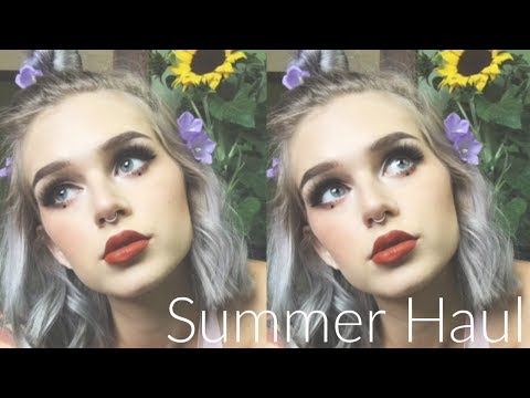 SUMMER TRY ON HAUL '17 | Adore Me, Romwe, Urban Outfitters, Etc.