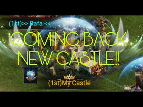 CLASH OF KINGS NEW CASTLE!