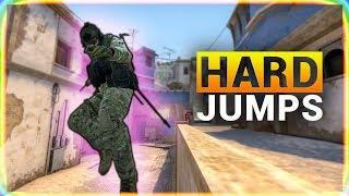 10 CS GO HARD JUMPS