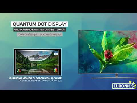 Samsung | TV QLED UHD Curved | Serie 8 | 55Q8CN 2018