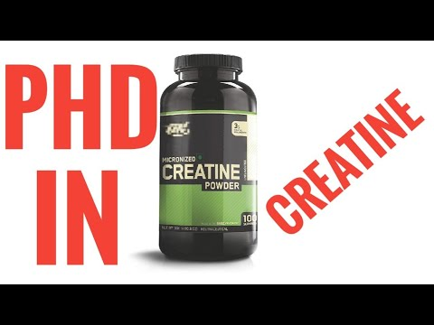 PHD IN CREATINE- Dr. NIKHIL TARI's EXPLANATION