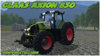 LS15 CLAAS TAG! CLAAS Axion 850 Mod für Landwirtschafts Simulator 15