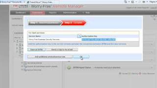 Tutorial Worry-Free Remote Manager (Parte 2)