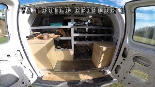 """Episode 1 - Exterior and Work area Tour of my """"Future"""" Stealth Camper Van"""