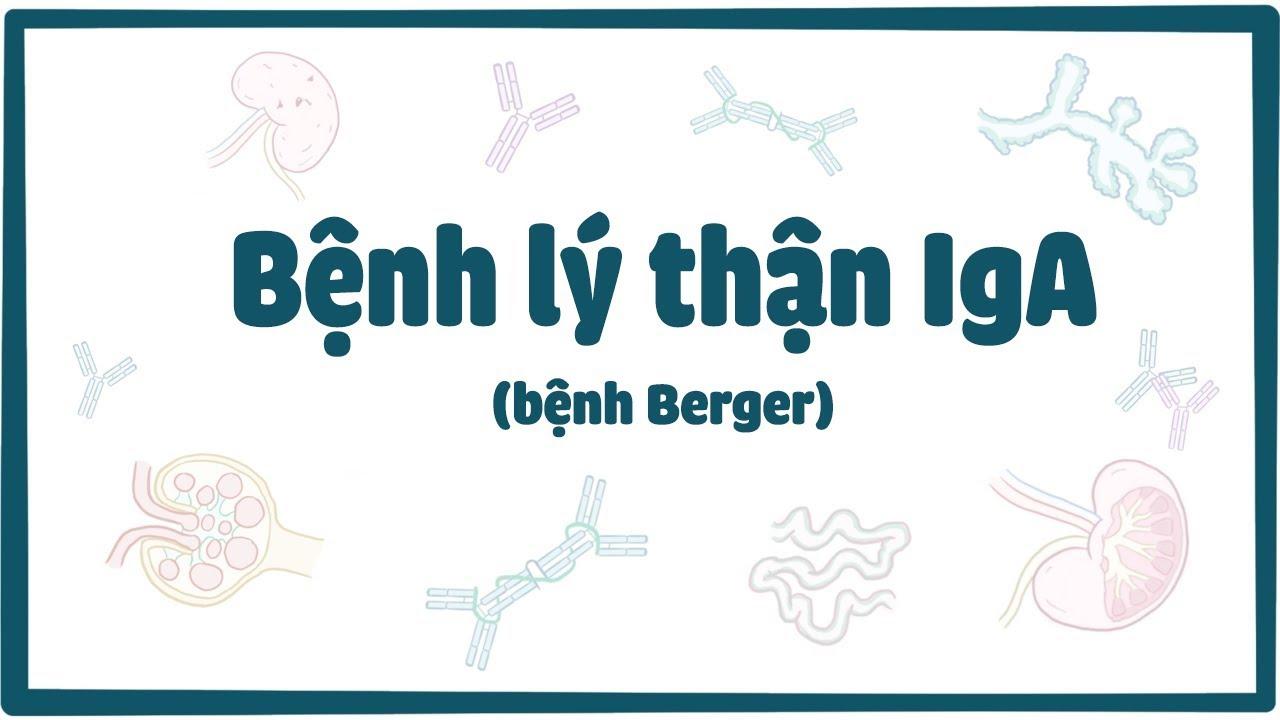 Bệnh lý thận IgA (bệnh Berger)