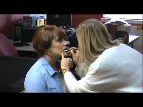 Caroline Gilmour - Behind the Scenes at What Georgina Said Photo Shoot