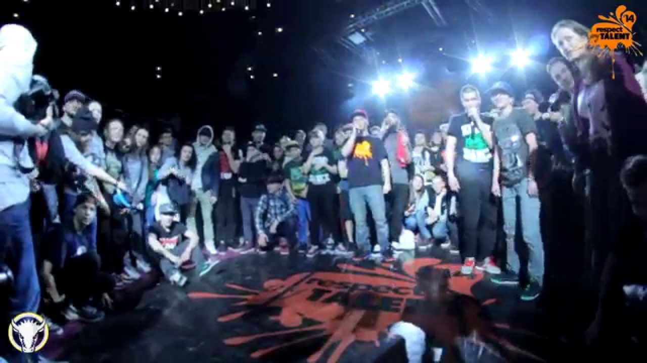 RESPECT MY TALENT-2014. KRUMP 1/2 Ugly Fate vs Girl ...