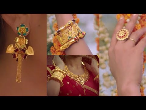 Latest Gold & Diamond  Jewelery ADD Collection  From P.C.Chandra Jewellers