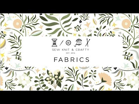 Fabric Design Picks for Kids - Spring 2018 (Custom Printed Fabric through Spoonflower)