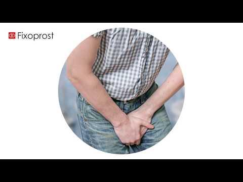 Príznaky zväčšenej prostaty, BHP, liečba prostaty (Fixoprost ®)