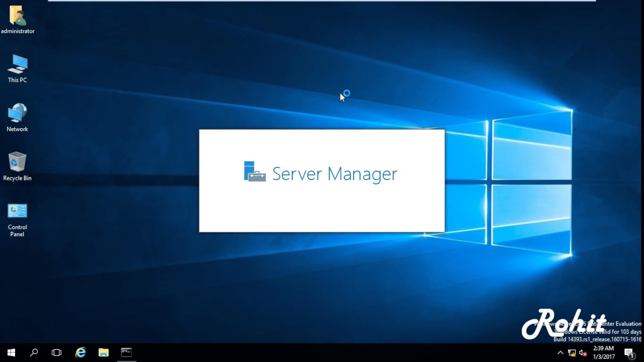 windows server 2016 requires activation within 90 days after installation.