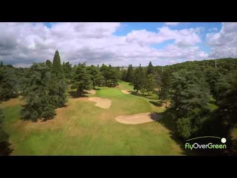Racing Club De France – drone aerial video – La Vallée – Hole#14