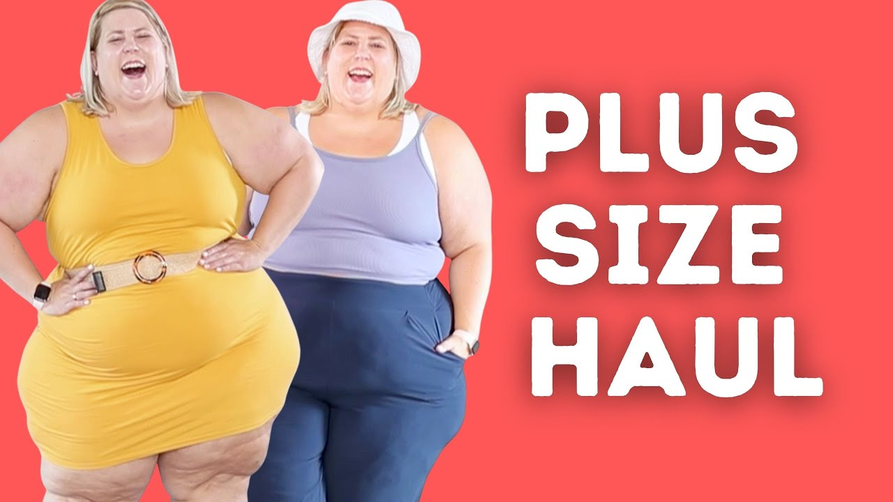 Plus Size Try On Haul: Comfy Clothing and Athleisure Wear
