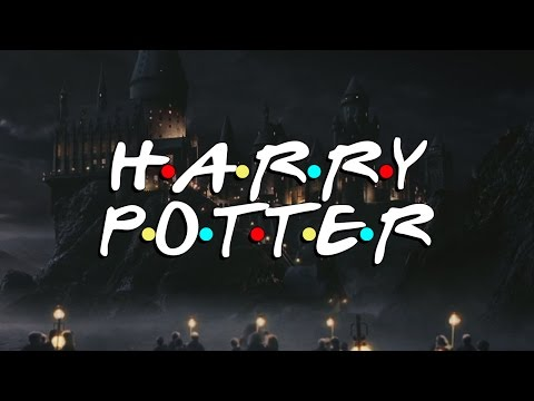 "If ""Harry Potter"" Was A Sitcom Like ""Friends"":  Hilarious Transformation"