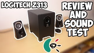 Logitech Z313 Review And Sound Test!