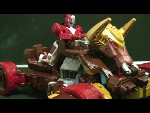 파워레인저 닌자포스 닌자킹 버기 장난감 power rangers ninja steel toys - youtube