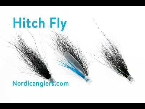 Fly Tying Instruction On How To Tie A Hitch Salmon Fly