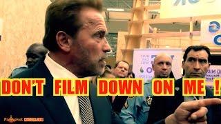 Arnold Schwarzenegger Stops Fan Filming His