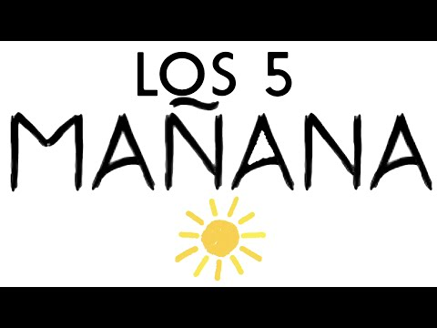 "LOS 5 - ""Mañana"" - Lyric Video"